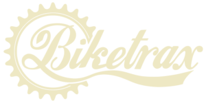 Biketrax logo on transparent background